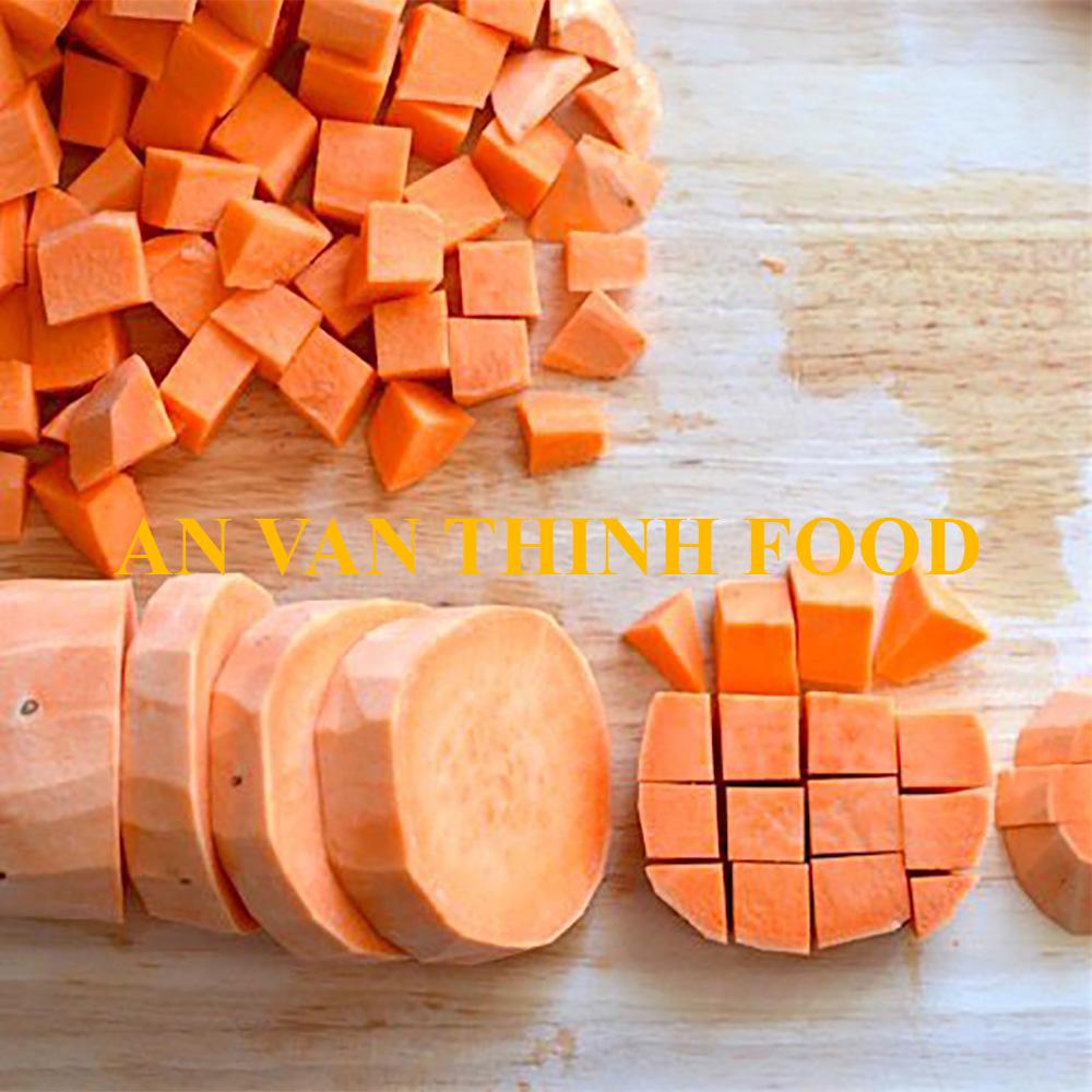 Khoai lang cam hạt lựu